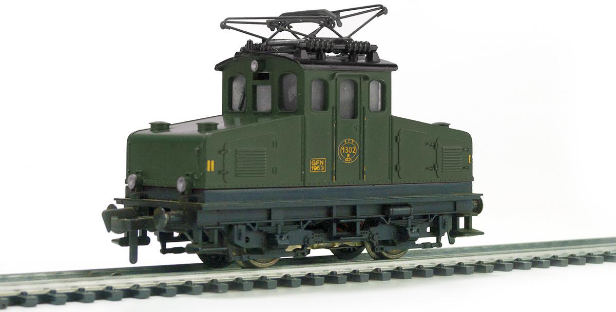 0af8d2c6062 Bovenstaande Fleischmann 1302 locomotief is echter nooit in het groen  uitgebracht. Bovenstaande foto is dan ook met behulp van Photoshop tot  stand gekomen.